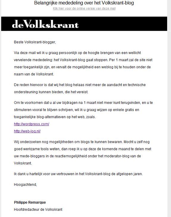 krant volkskrant online
